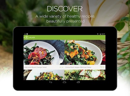 Garden Plate - healthy recipes- screenshot thumbnail