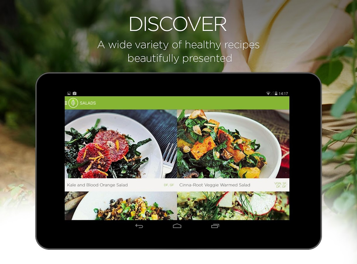 Garden Plate - healthy recipes- screenshot