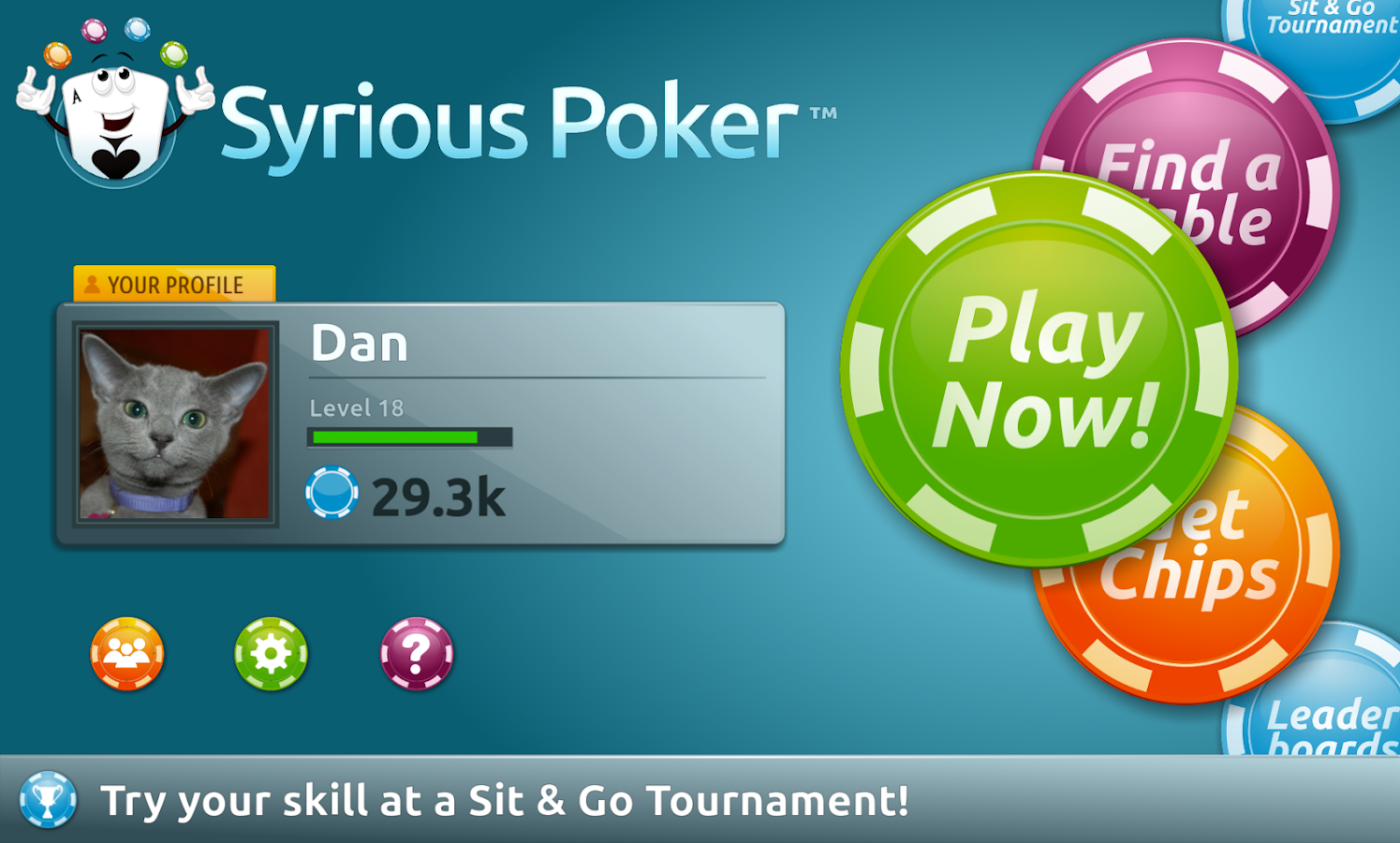 app for playing poker with friends