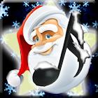 Christmas Music - tambourine, bell, jingle, drum icon