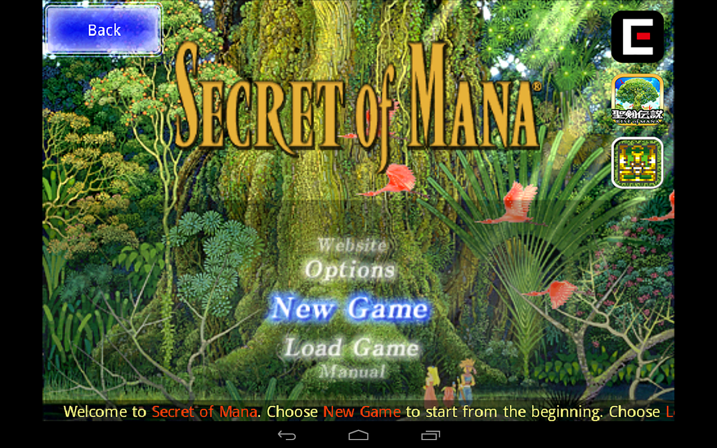 Secret of Mana- screenshot