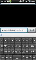 Screenshot of Symbols&Emoji Keyboard Pro