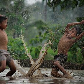 childhood by Haris Fallin - Babies & Children Children Candids