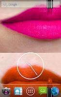 Screenshot of Lipstick Live Wallpaper