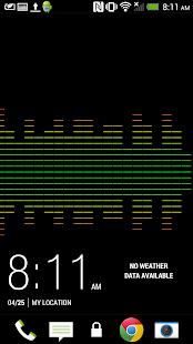 Audio Visualizer Live Screenshot 2