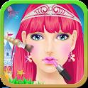 Princesse sirène jeux de fille icon