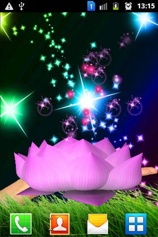 3D Lotus Glitters