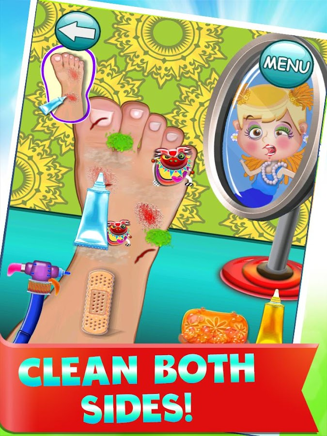 Foot Doctor - Games For Kids- screenshot