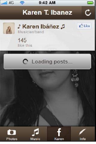 Karen Ibanez Christmas Music- screenshot