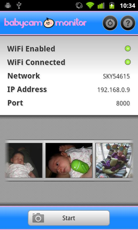 BabyCam Monitor - screenshot