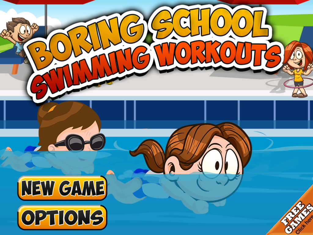 Boring School Swimming Workout- screenshot