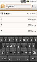 Screenshot of Any Beer ABV Free