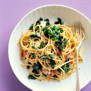 Whole-Wheat Pasta with Kale and Fontina