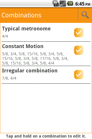 Advanced Metronome - screenshot