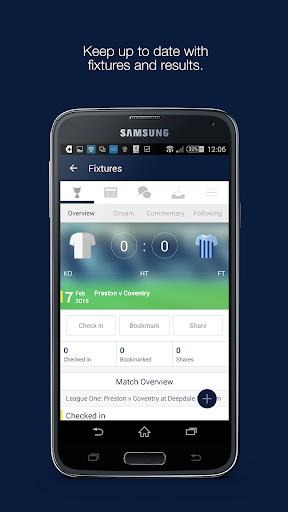 Fan App for Preston North End