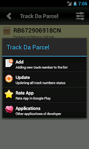 Track Da Parcel screenshot 1