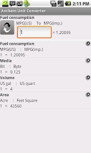 Anthem Unit Converter - screenshot thumbnail