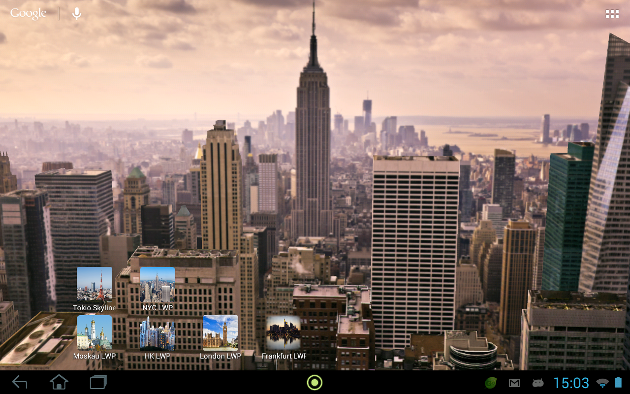 3d new york live wallpaper android apps on google play for Where do models live in nyc