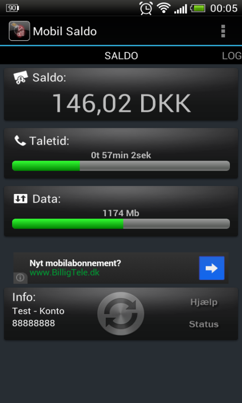 Mobil Saldo Gratis - screenshot