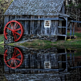 The Chester Mill by Janet Lyle - Buildings & Architecture Other Exteriors ( water, mill, buildilng )