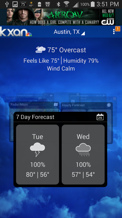 KXAN Weather- screenshot