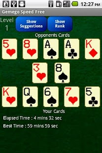 Speed Solitaire Free - screenshot thumbnail