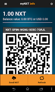 MyNXT Online Wallet- screenshot thumbnail