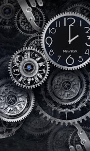 Black Clock Live Wallpaper HD - screenshot thumbnail