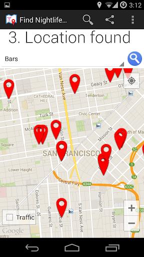 玩旅遊App|ミー近くでナイトライフが楽しめるを見つける免費|APP試玩