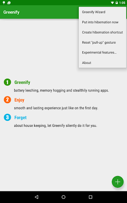 Greenify Donate 2.95 Beta 3 Patched APK