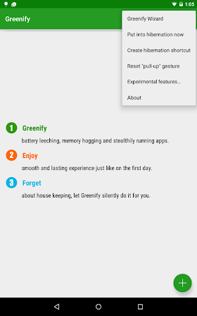 Greenify 2.5.1 Beta 1 Donate Patched APK