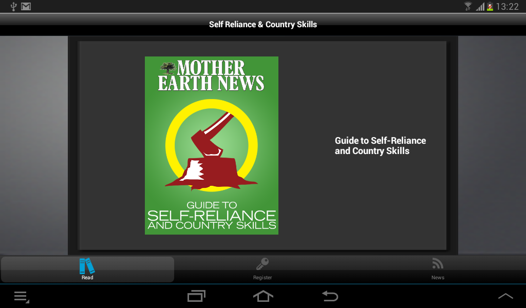 Self Reliance & Country Skills - screenshot