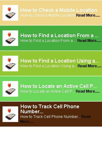 Mobile Location Number