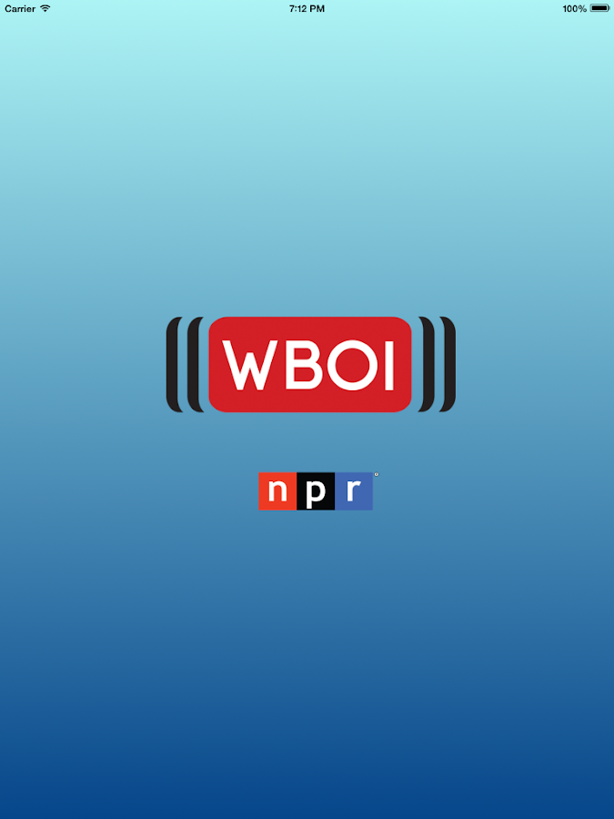 WBOI Public Radio App - screenshot