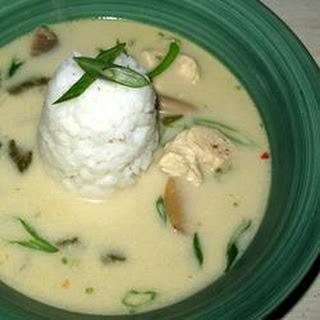 Thai Chicken Tom Ka Gai
