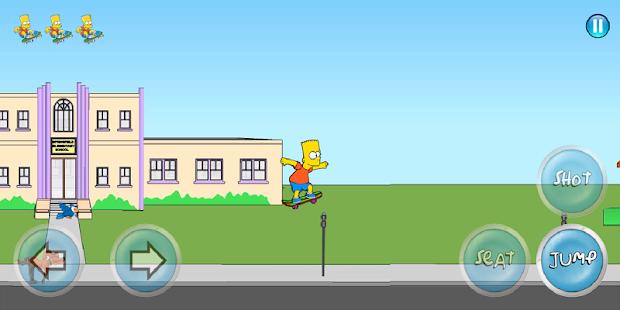 دانلود بازی بارت سیمپسون ۲  Bart Simpson 2 v1.0