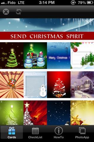Make and Send Christmas Cards