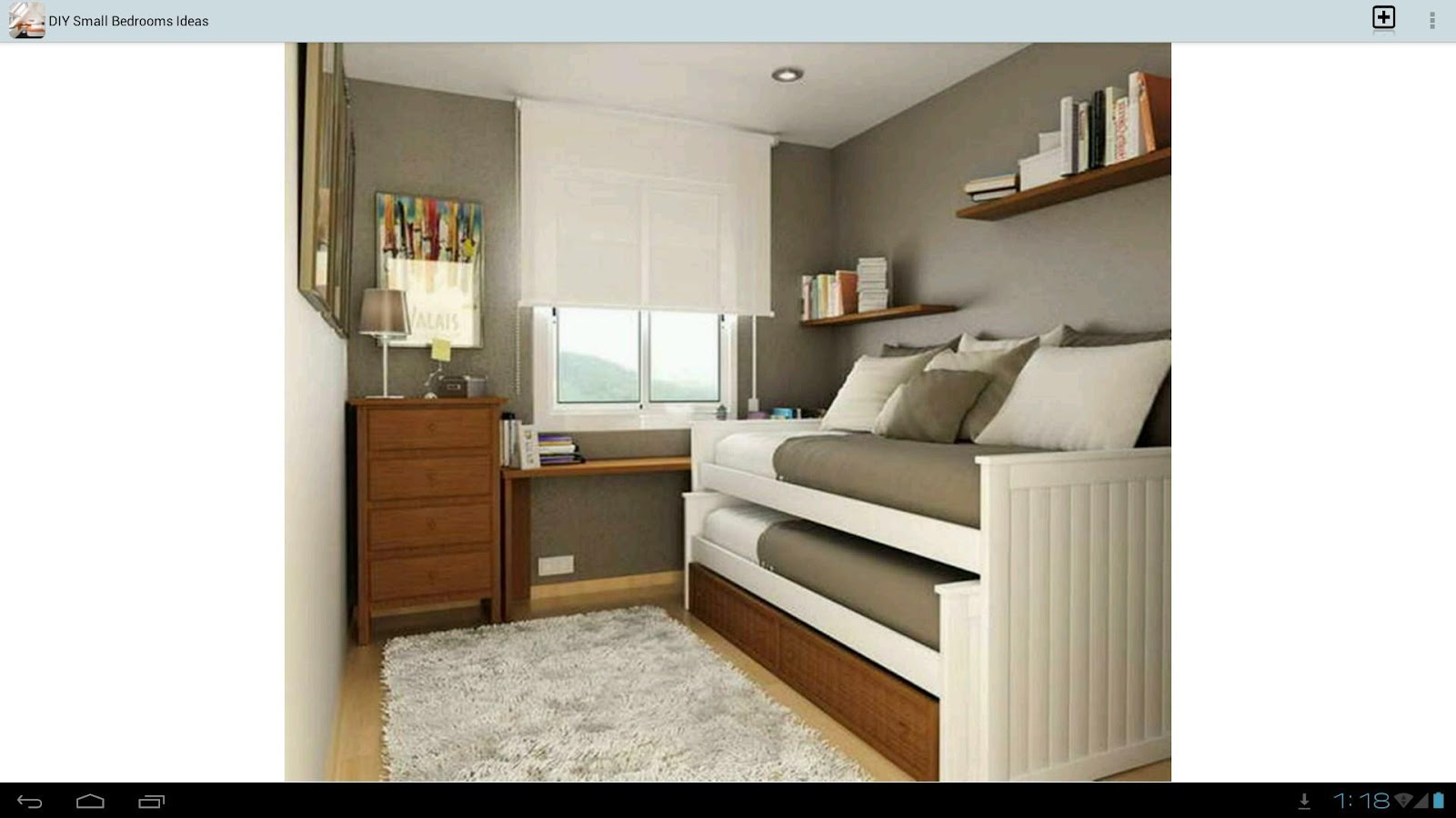 DIY Small Bedrooms Ideas Android Apps on Google Play