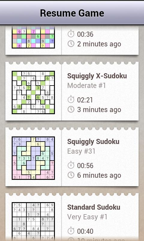 Andoku Sudoku 2- screenshot