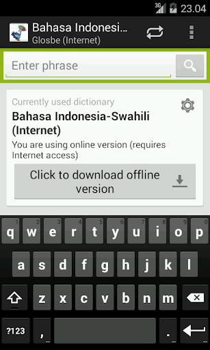 Indonesian-Swahili Dictionary