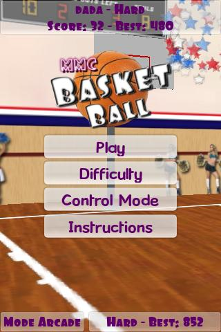 Basketball MMC- screenshot