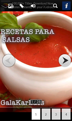 Recetas para Salsas