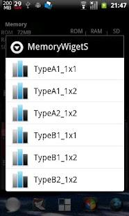 MemoryWidgetS- screenshot thumbnail