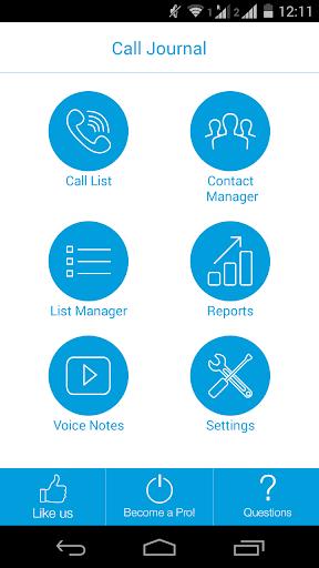 MyAgent Call Journal Lite