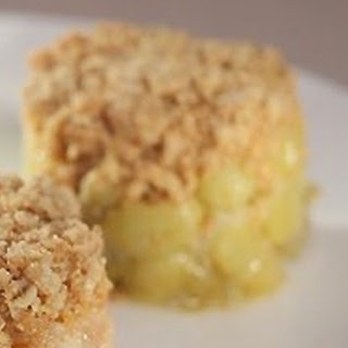 Gooseberry And Elderflower Crumble