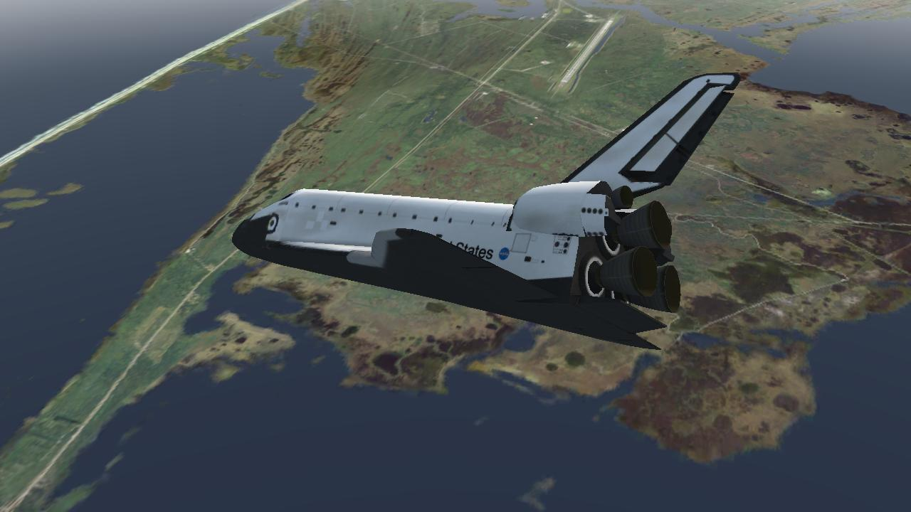 F-Sim Space Shuttle - screenshot