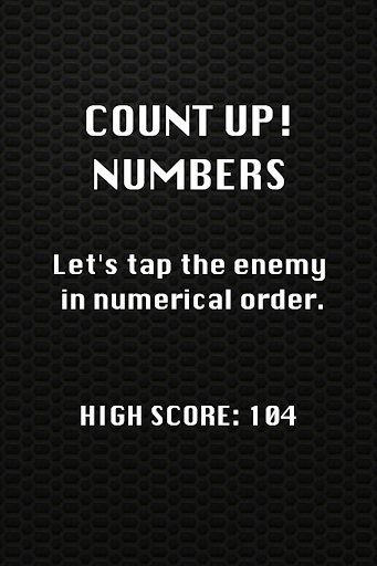 Count Up Numbers