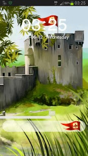 GO Locker Theme Castle - screenshot thumbnail