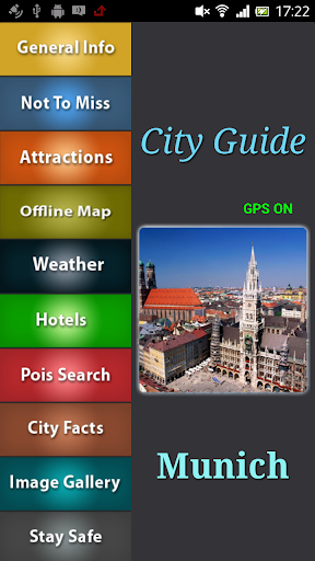 Munich Offline Travel Guide