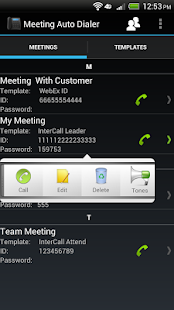 Meeting Auto Dialer - screenshot thumbnail
